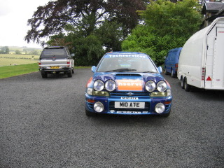 Ample parking available - even for rally cars!