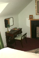 John Nisbet's room - writing desk